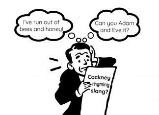 What is Cockney rhyming slang?