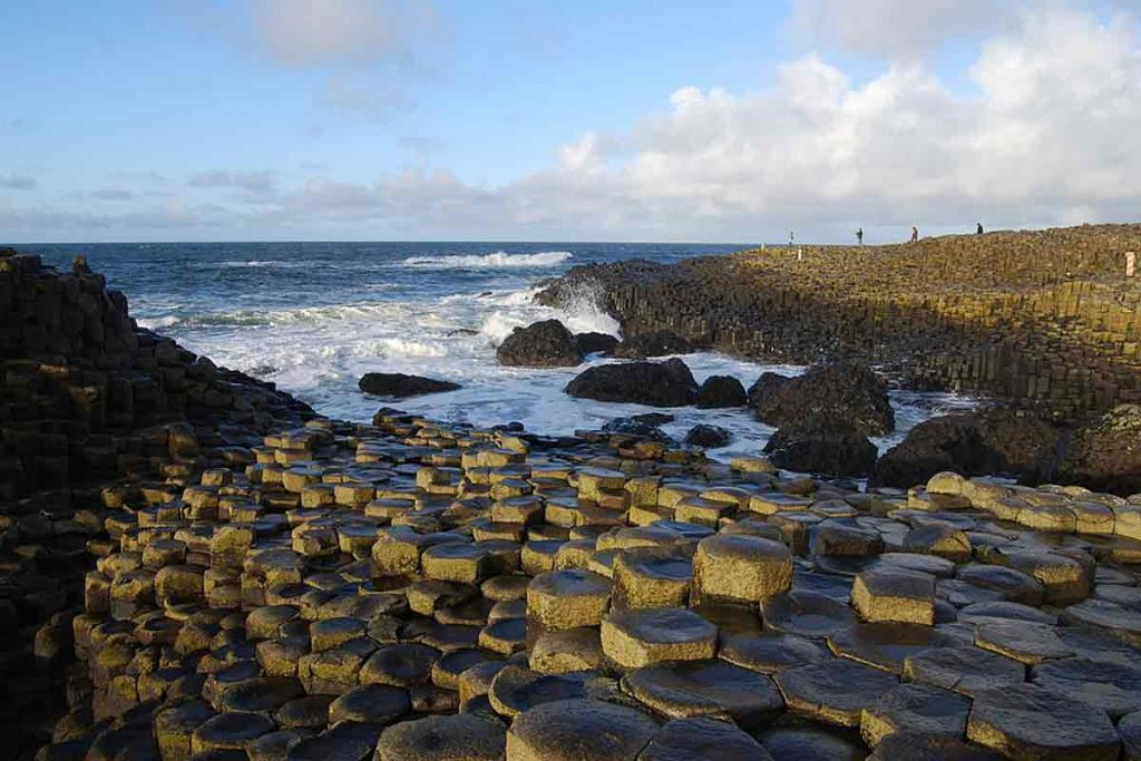 The Giant's Causeway is one of the best natural wonders in the UK.