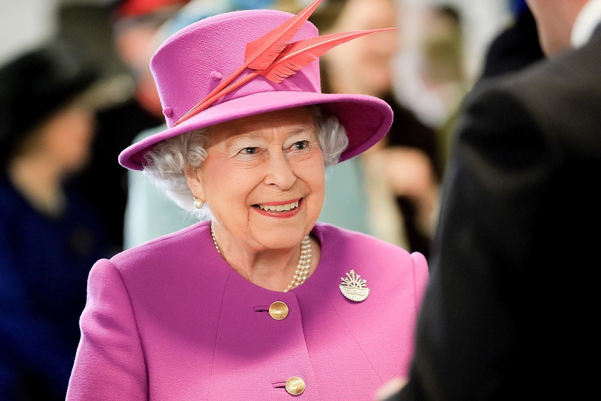 Photograph of Queen Elizabeth II. The queen has two birthdays: one public, and one private.