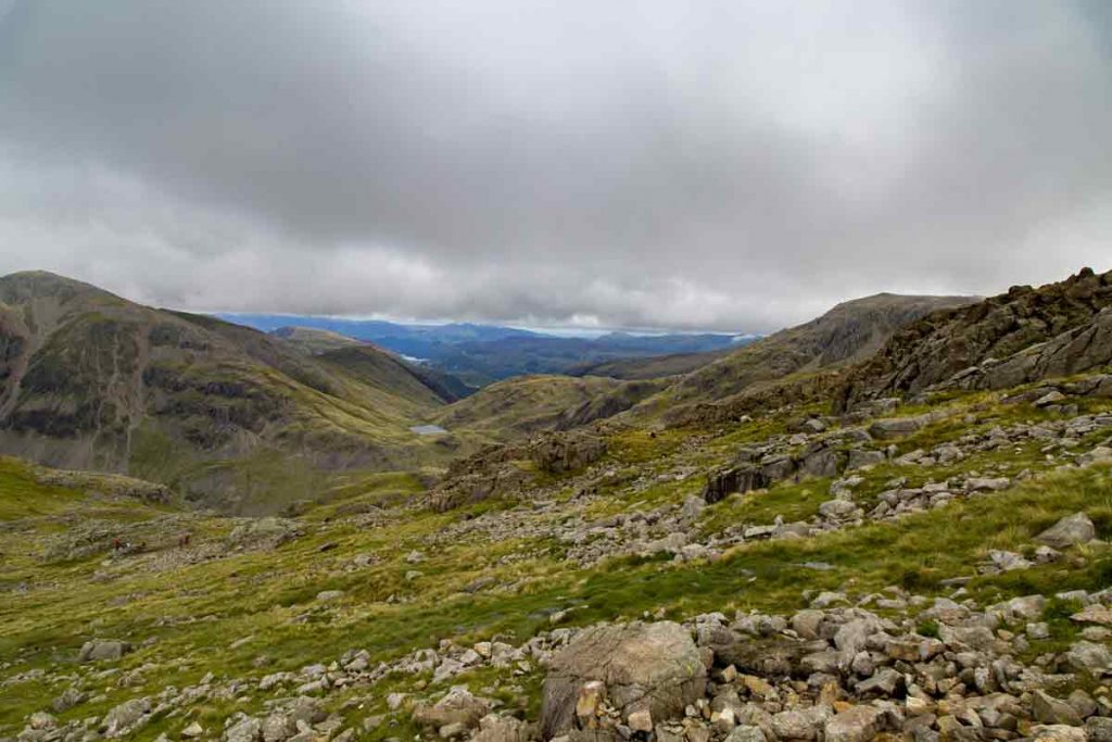 Scafell Pike is the Lake District is one of the best natural wonders in the UK.