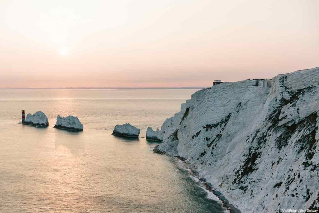 The Needles in Isle of Wight is one of the best natural wonders in the UK.