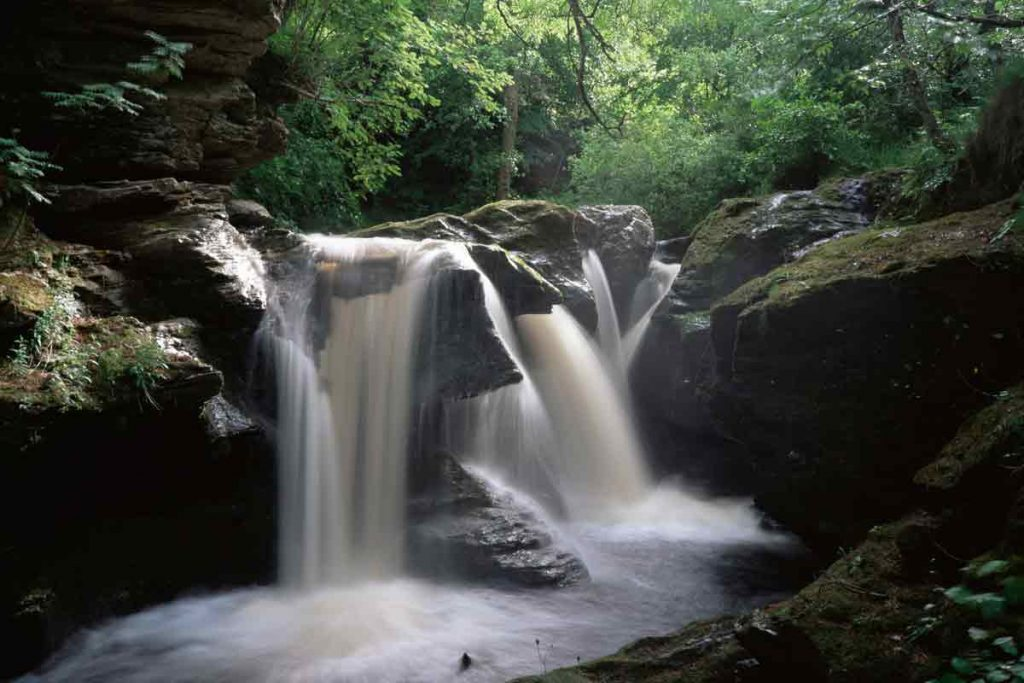 The Falls of Edinample in Stirling, Scotland is one of the most beautiful places in the UK.