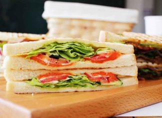 Photograph of a sandwich