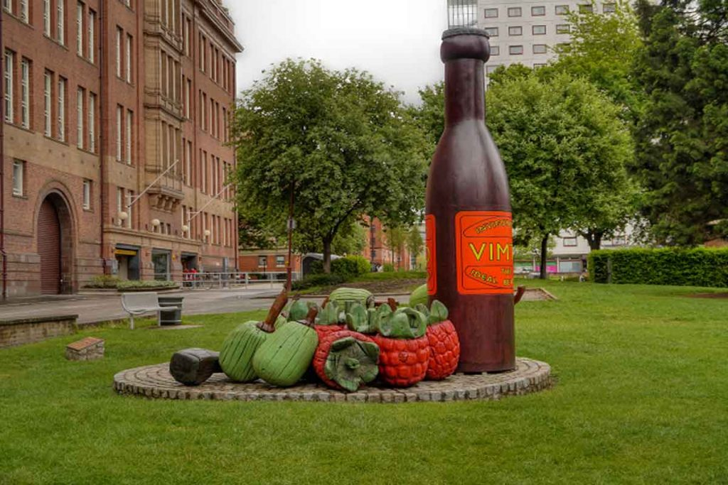 The statue of Vimito in our guide to Manchester is a spot that you cannot miss.