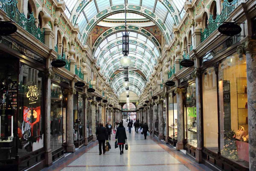 Follow our guide to Leeds and go on a shopping haul at the Victorian Quarter