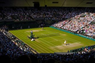 Photo of Wimbledon tennis court