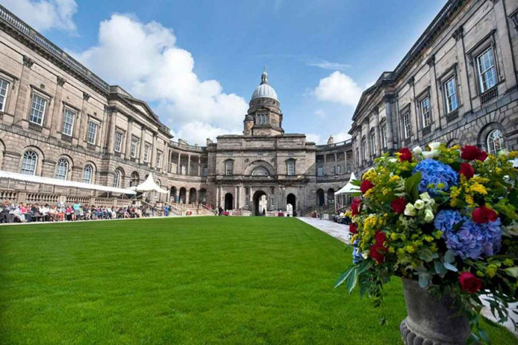 University of Edinburgh is one of the most beautiful universities in Britain.