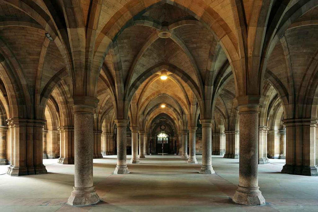 University of Glasgow is one of the most beautiful universities in Britain.