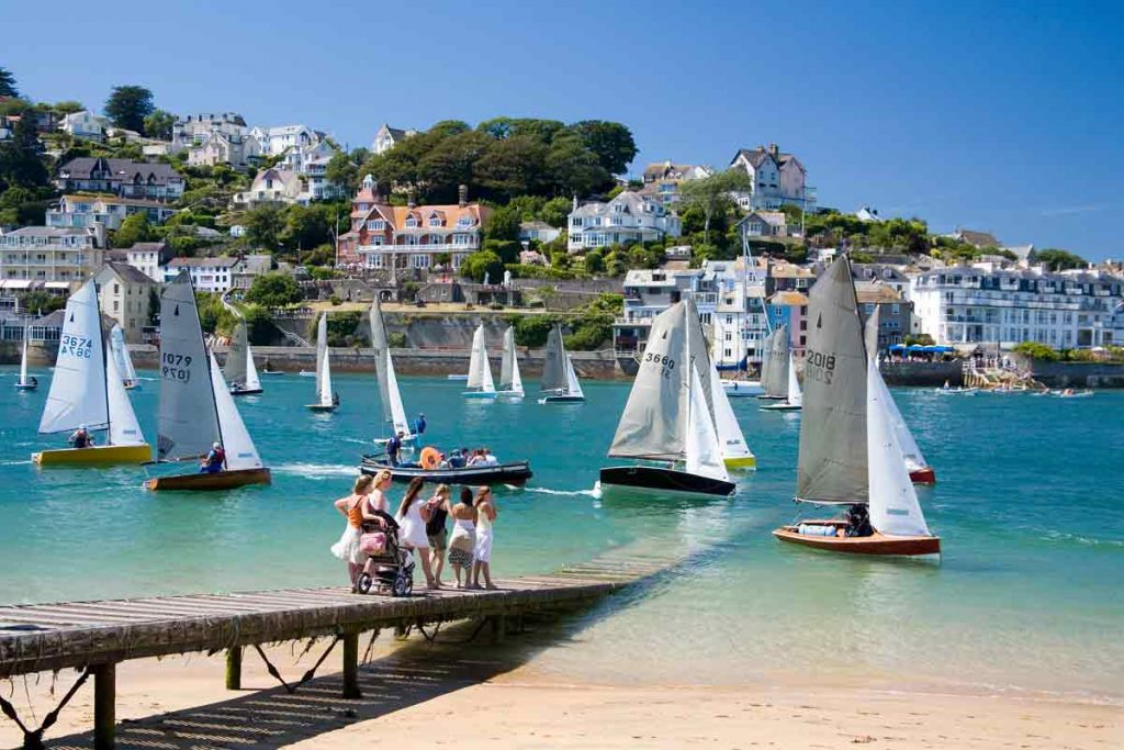 Salcombe in Devon is one of the ten most beautiful places in the UK.