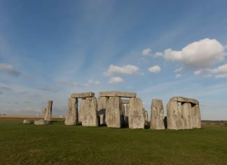 Stonehenge in Wiltshire. The origin of Stonehenge might be one of the things you might not know about the UK.