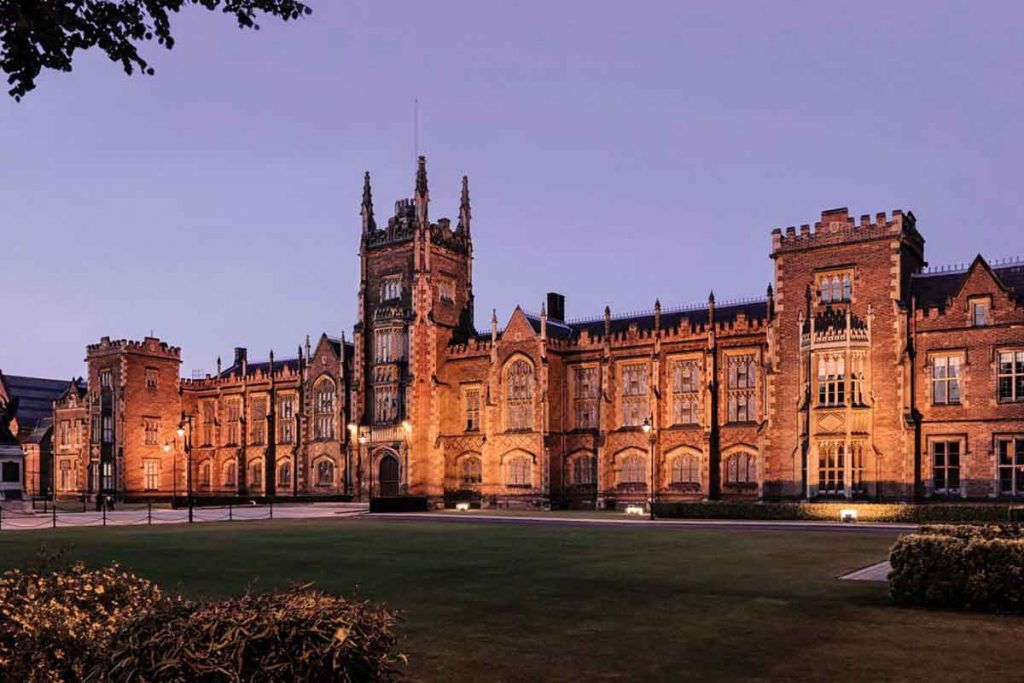 Queen's University Belfast is one of the most beautiful universities in Britain.