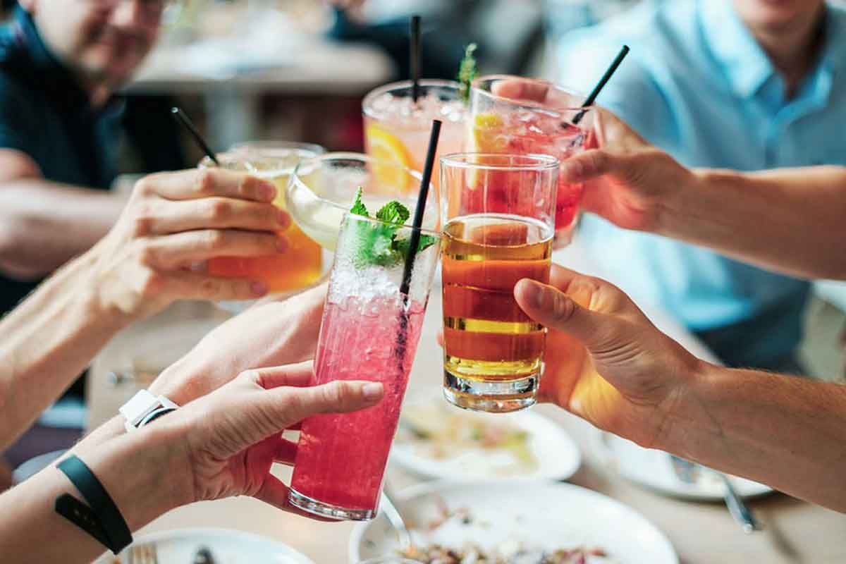 Why do Brits say 'cheers' before drinking?
