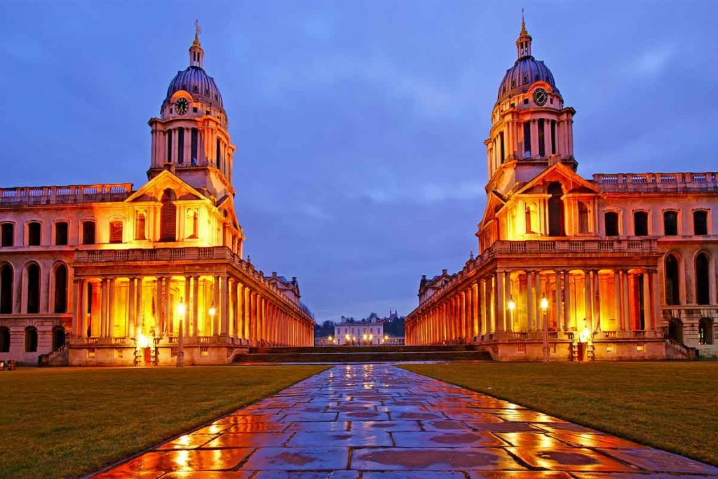 University of Greenwich is one of the most beautiful universities in Britain.