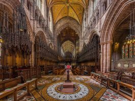 Chester Cathedral is one of the must-visit in our guide to Chester.