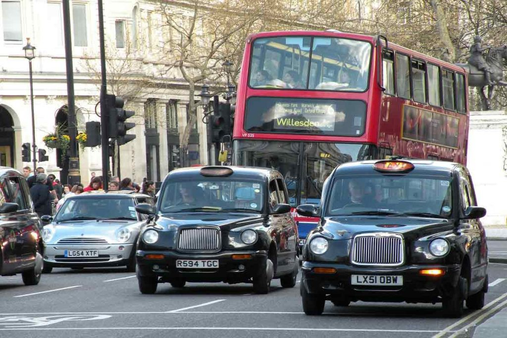 Transport around the UK for students - by taxi