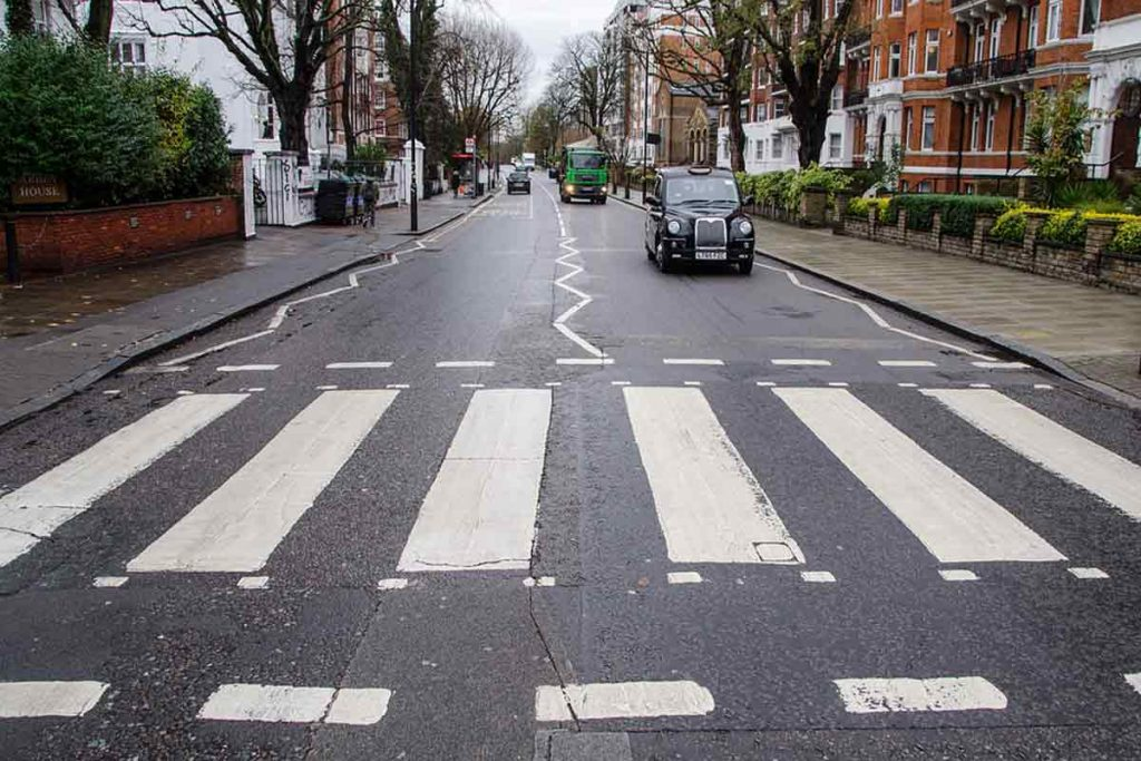 Pelican crossing or zebra crossing in the UK
