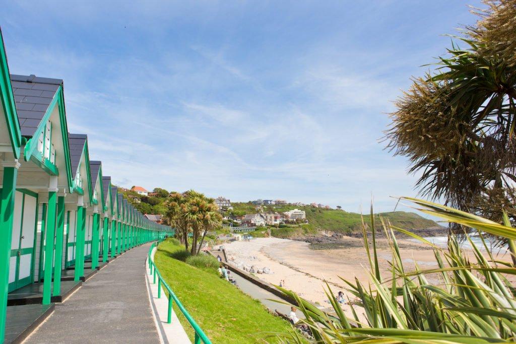 Langland Bay, Swansea, Wales