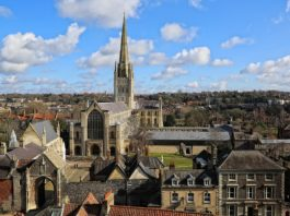 Photo of Norwich Cathedral by Paul Hurst