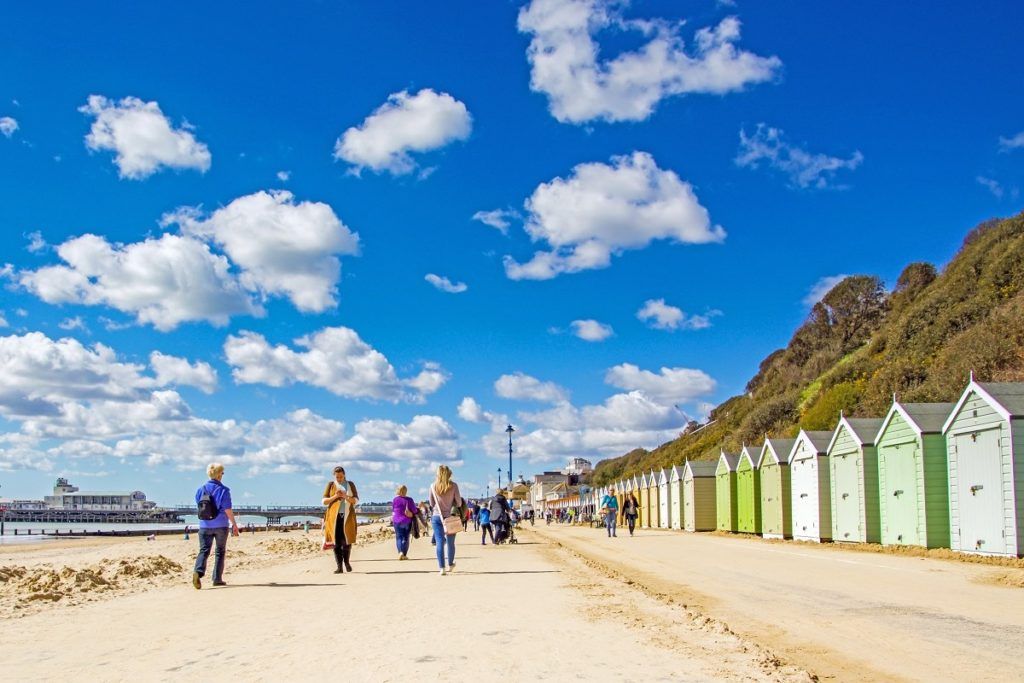 Photo of Bournemouth beach huts