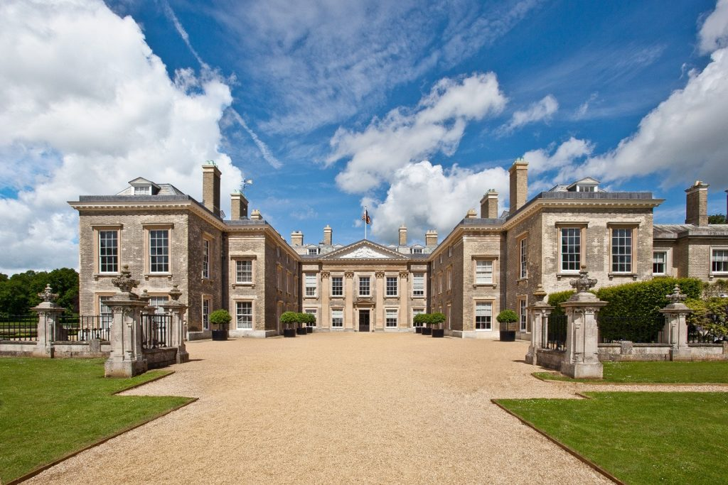Photo of Althorp House, the ancestral home of Princess Diana.