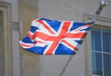 Photo of a British flag