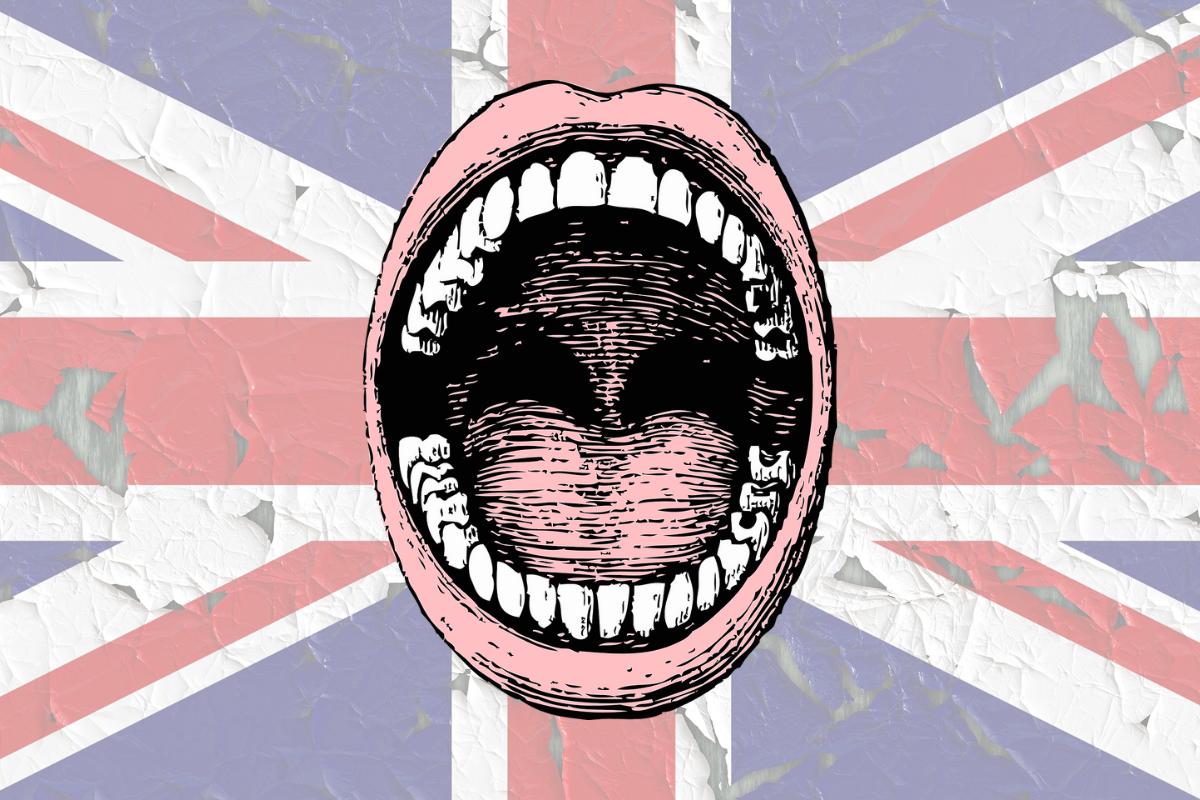 Brits and their teeth