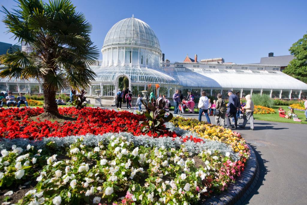 Belfast free Botanic Garden