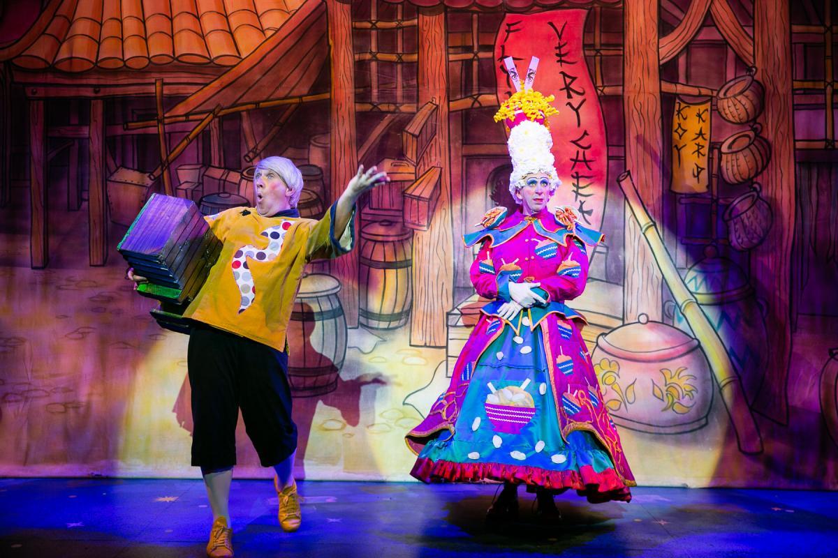 Pantomime a British Christmas tradition
