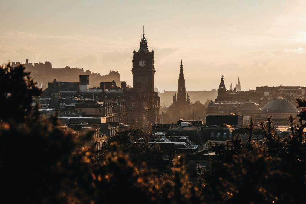 Edinburgh University, Edinburgh, clock tower